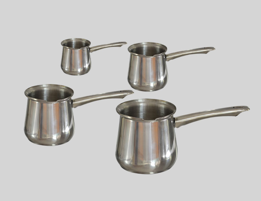 Set of four milk pot