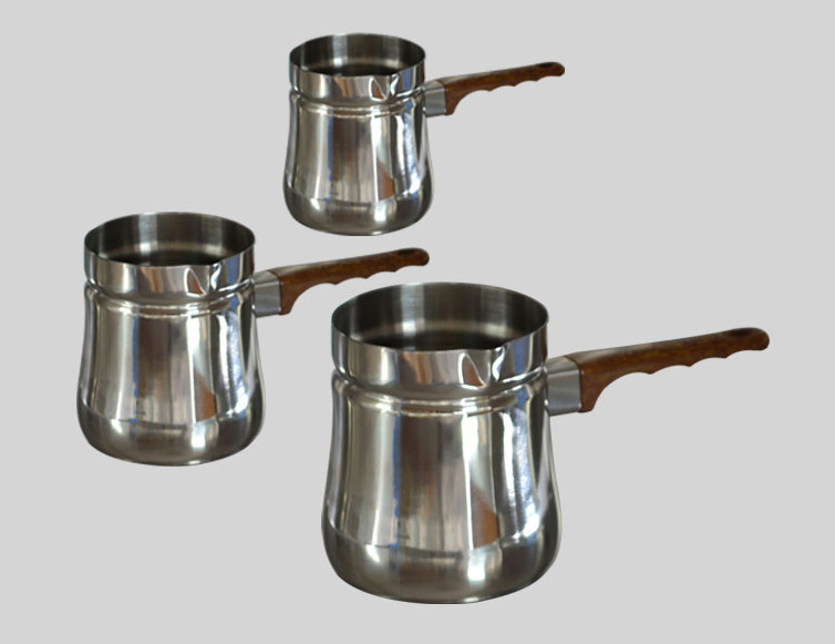 Set of three Arab pot