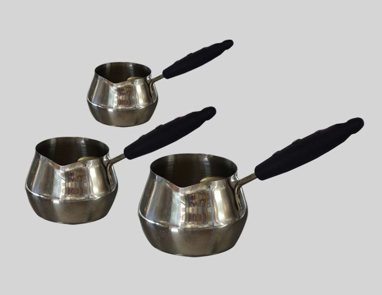 Set of three Apple Cup