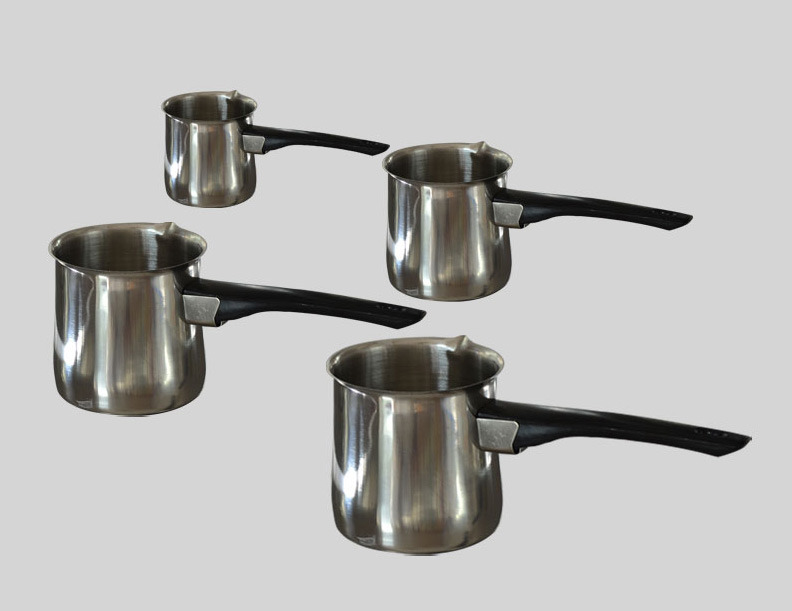 Set of four coffee pot